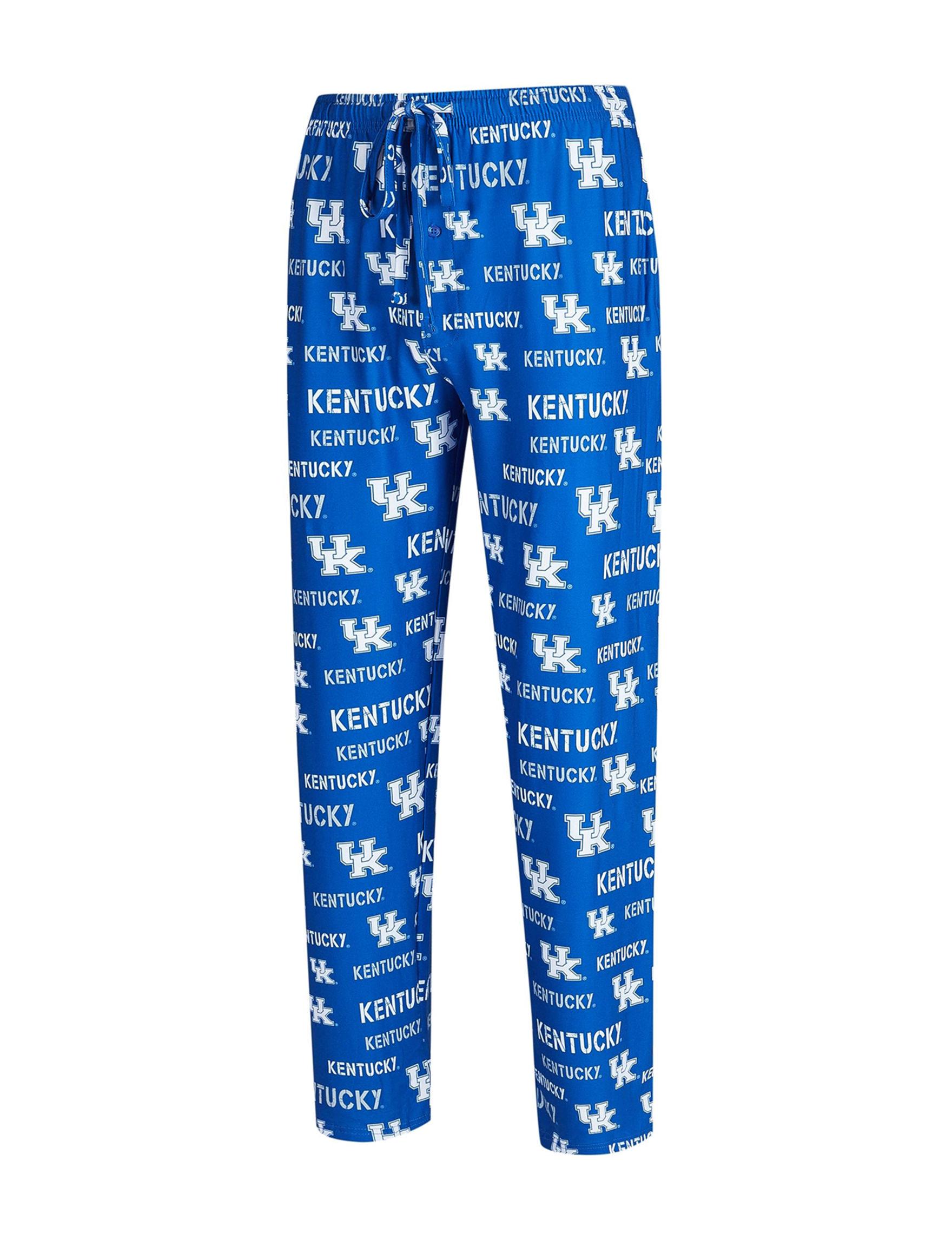 NCAA Royal Blue / White Pajama Bottoms