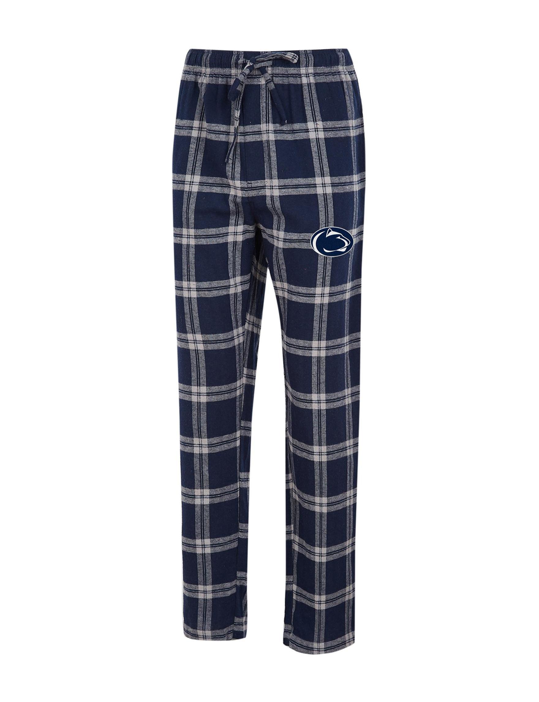 NCAA Navy / Grey Pajama Bottoms