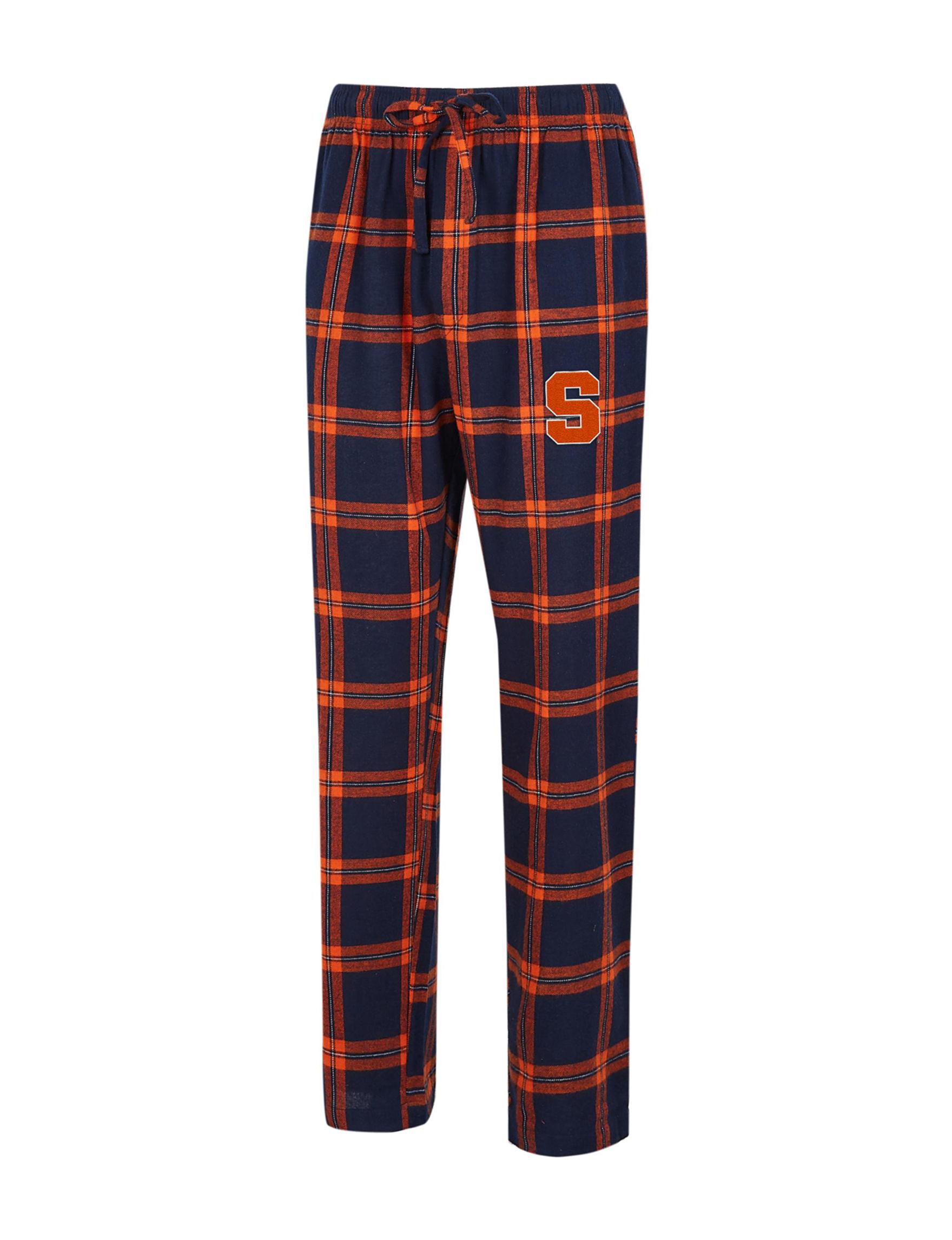 NCAA Navy / Orange Pajama Bottoms