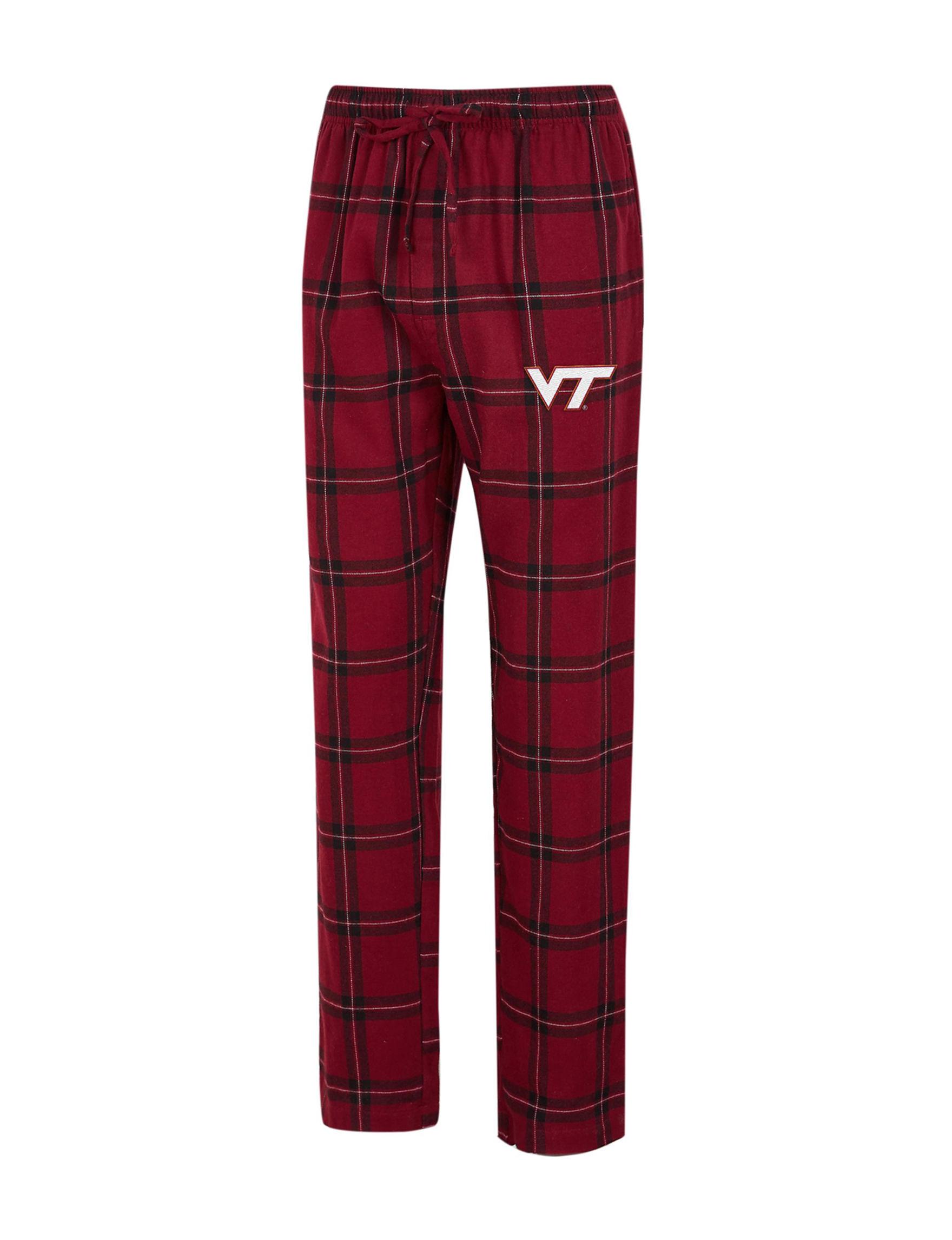 NCAA Red / Black Pajama Bottoms