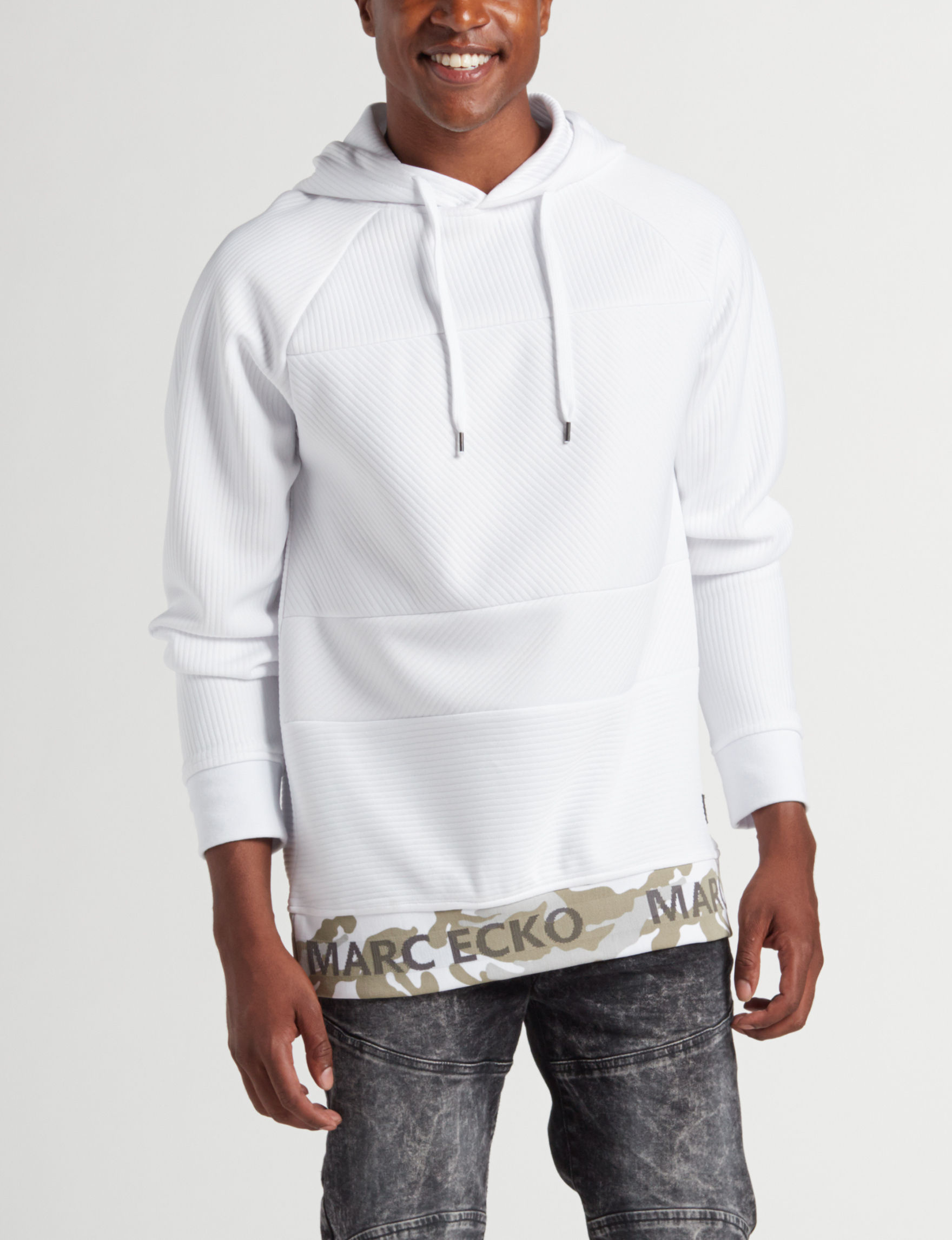 Marc Ecko White Pull-overs