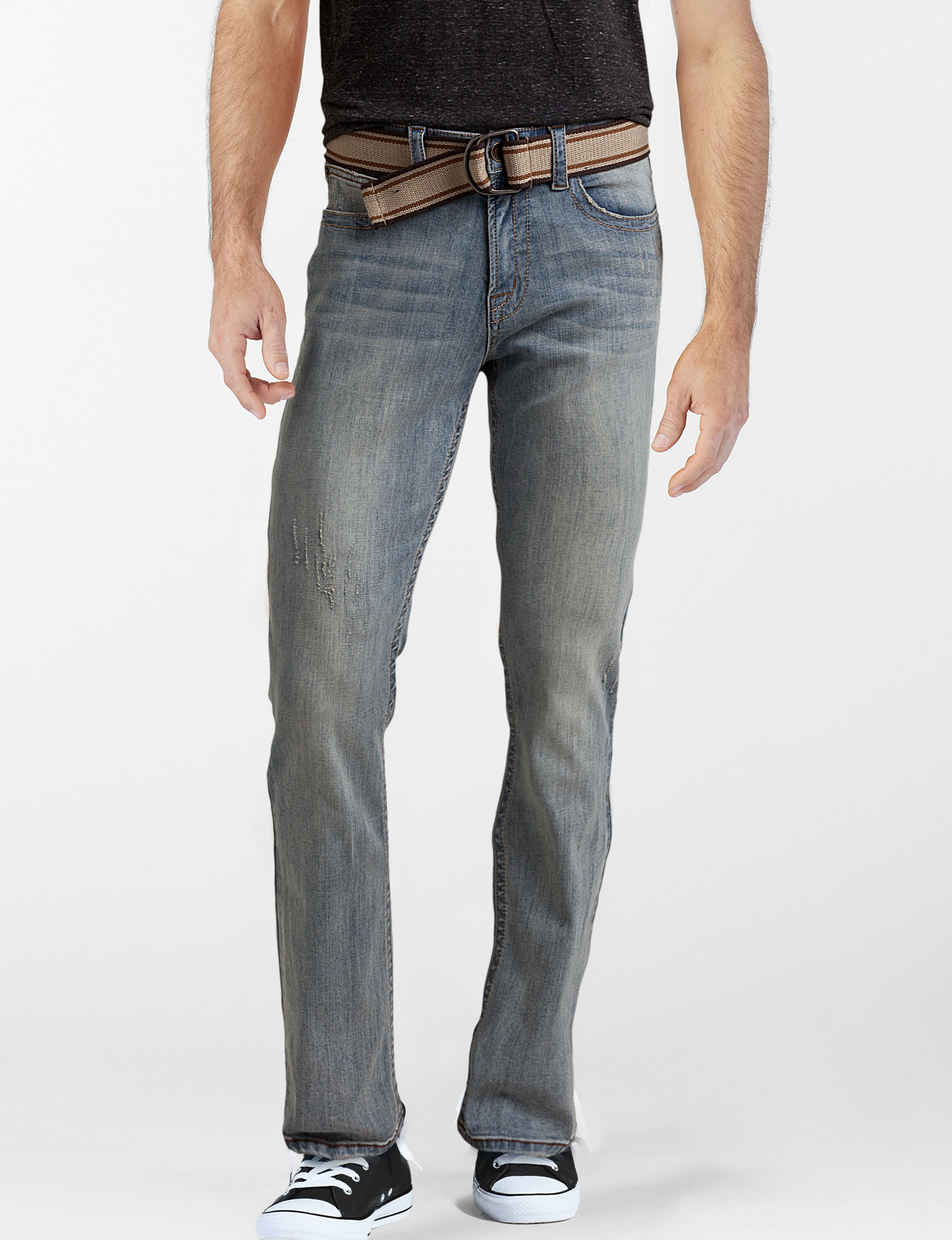 Rustic Blue Medium Blue Bootcut