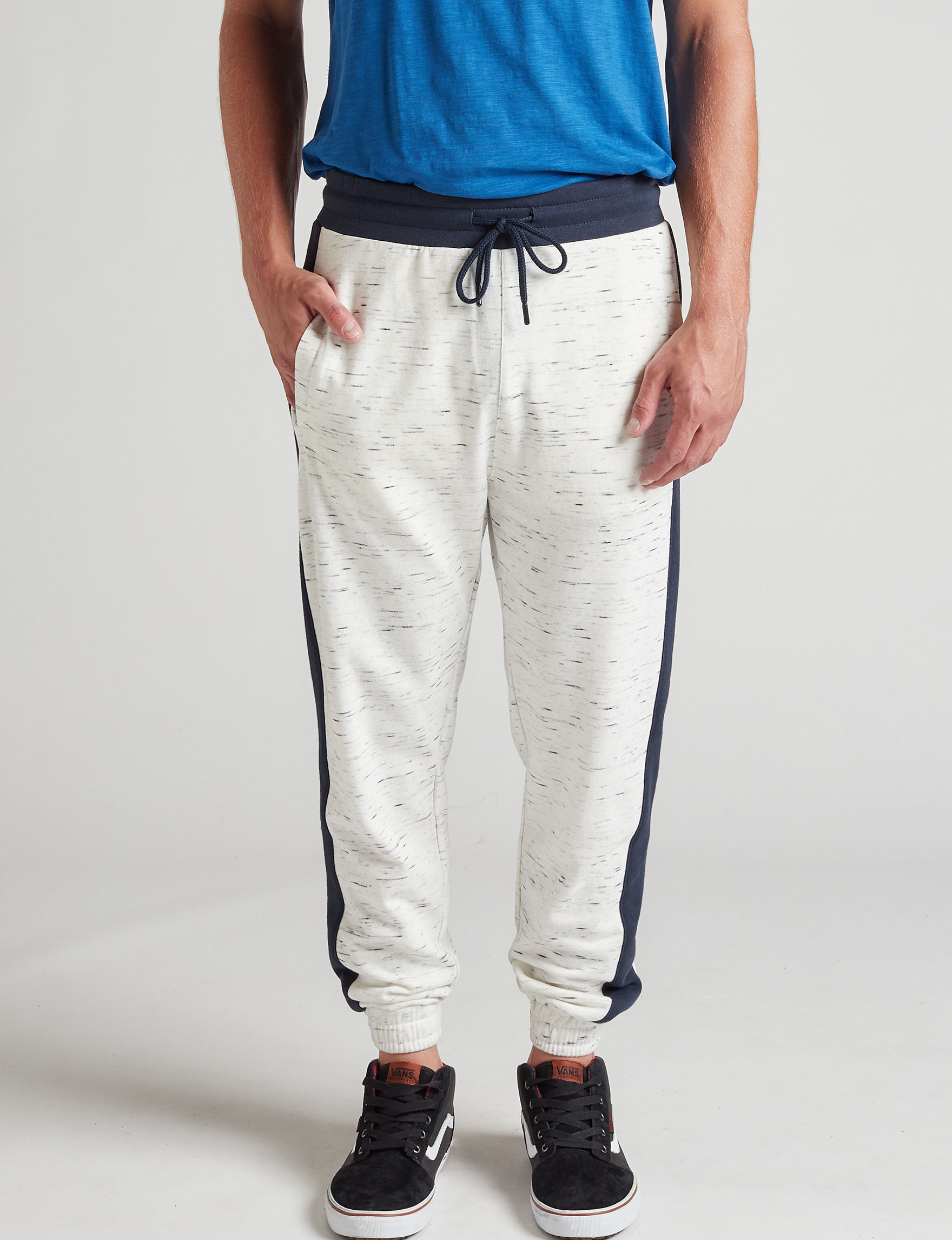 Rustic Blue White / Navy Jogger