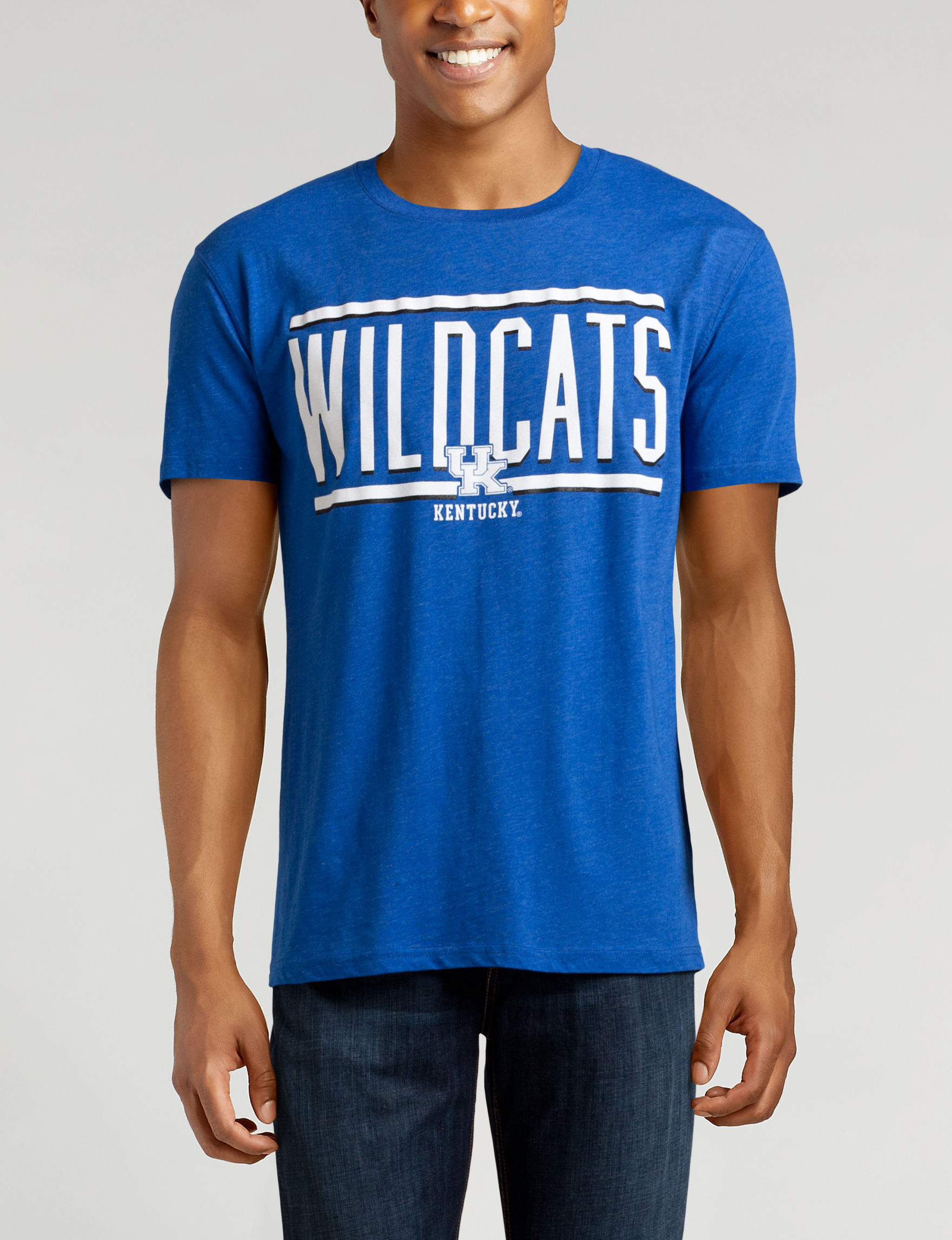 NCAA Royal Blue Tees & Tanks