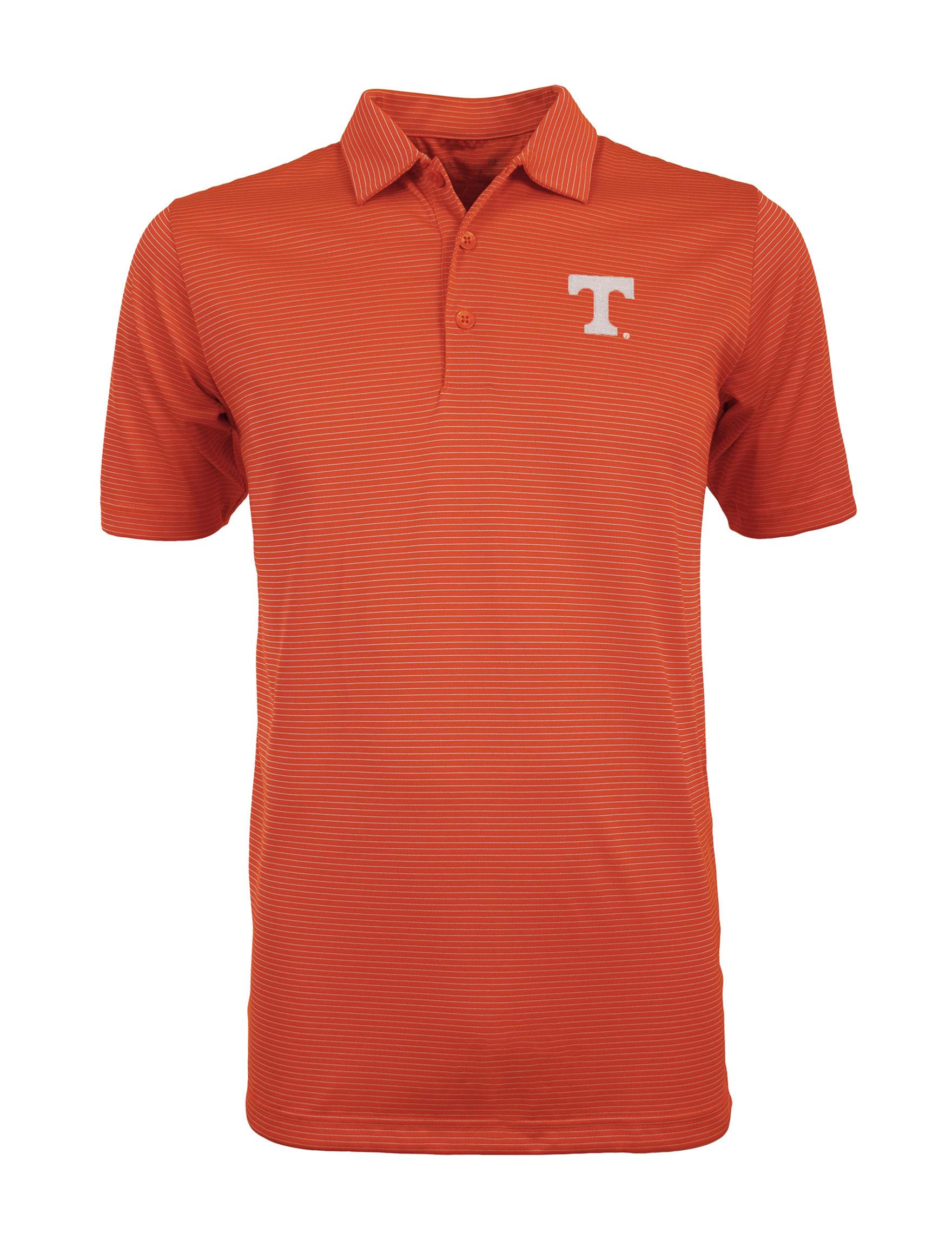 NCAA Orange Stripe Polos