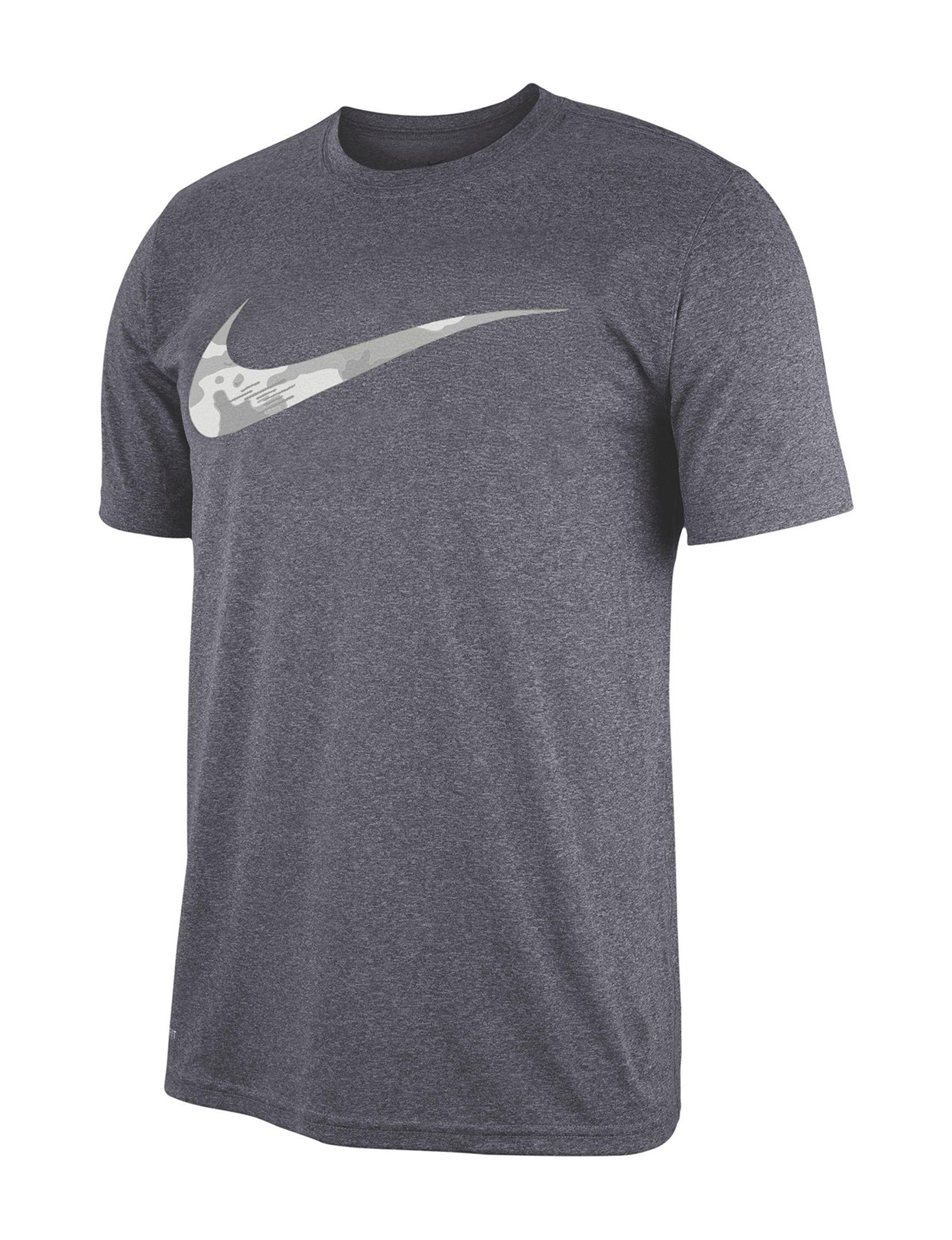 Nike Grey Tees & Tanks