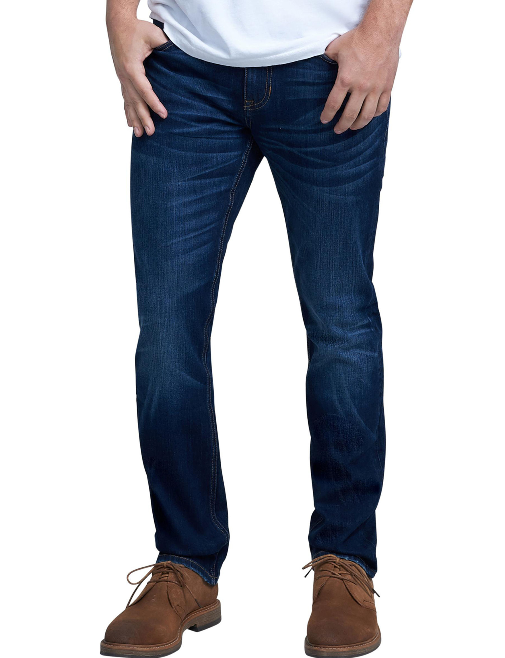 Seven 7 Dark Wash Slim Straight