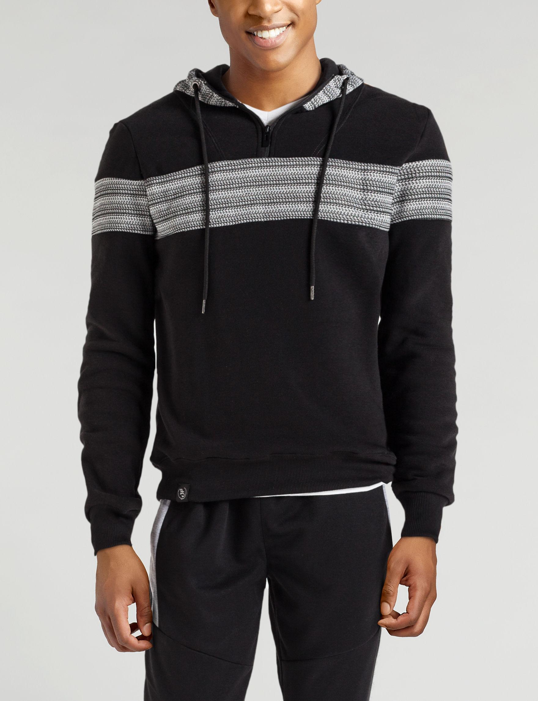 Brooklyn Standard Black Stripe Zip-Ups