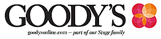 Goody's is part of our Stage Family!
