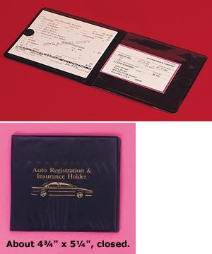 Car Registration And Insurance Wallet Auto Travel And Auto Starcrest