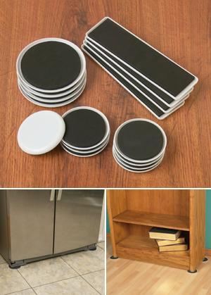 Furniture Sliders Set Of 16 Indoor Functional All Around The