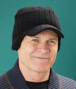 2482278a5e29d6 Ribbed Beanie with Bill - Hats & Caps - Clothing & Accessories ...