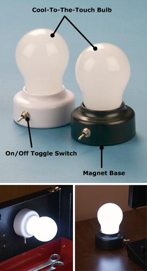 Anywhere Light Bulbs - Set of 2 - Lighting & Outlets