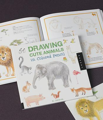 Drawing Cute Animals In Colored Pencil Ai Akikusa Books