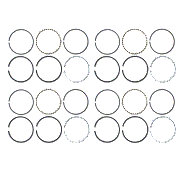 ABC2166 - Piston Ring Set 4-Cylinder