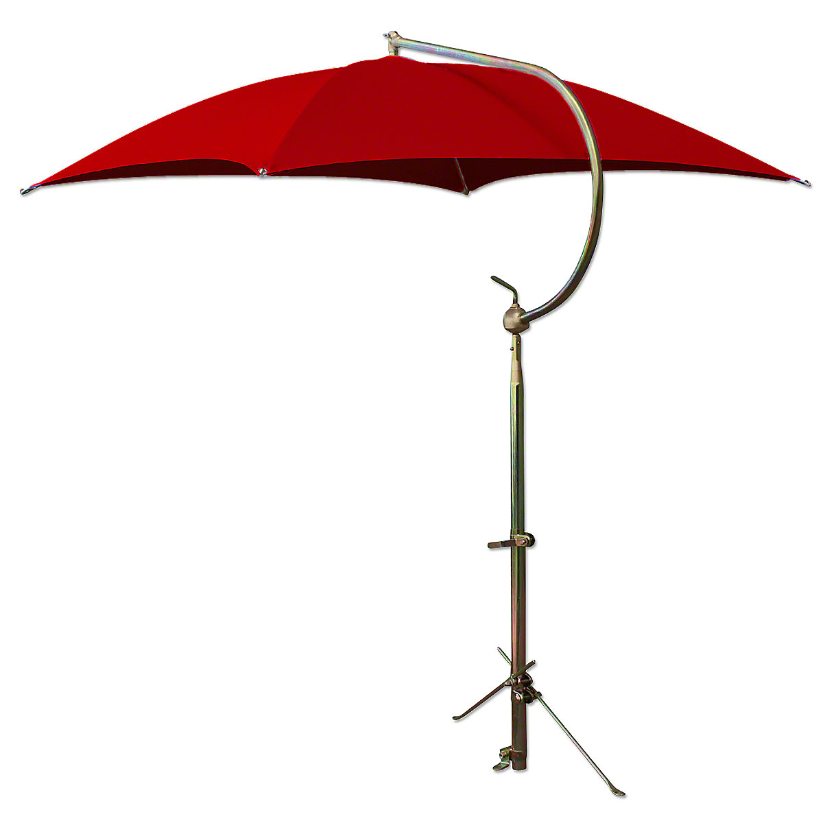 ABC2357 Deluxe Red Umbrella with Brackets