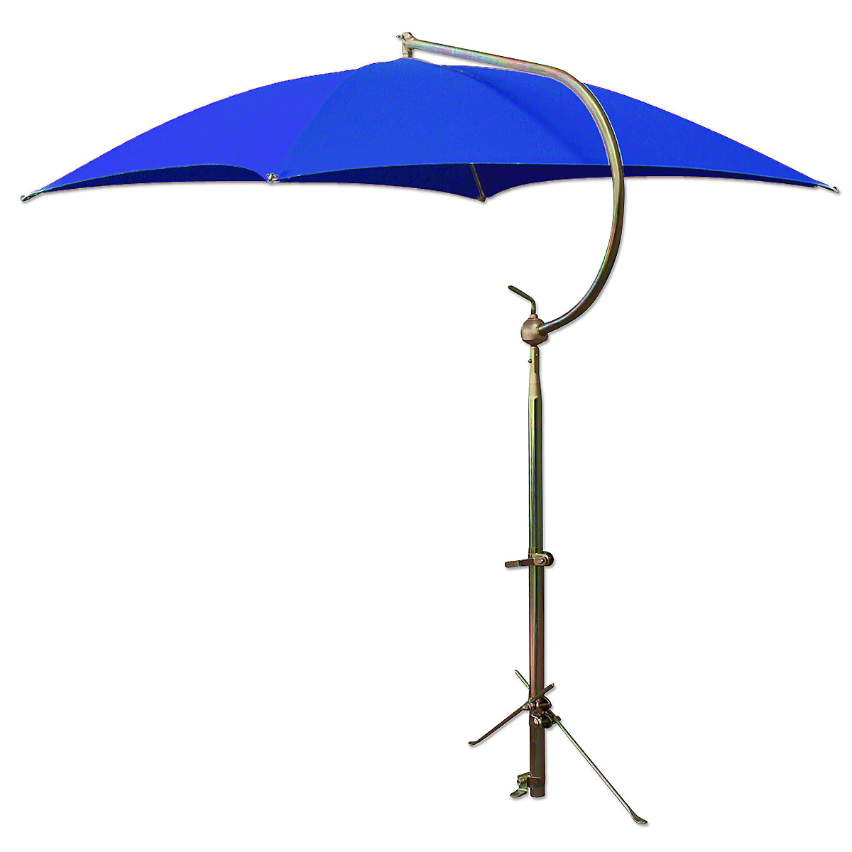 ABC2366 Deluxe Blue Umbrella with Brackets