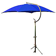ABC2366 - Deluxe Blue Umbrella with Brackets