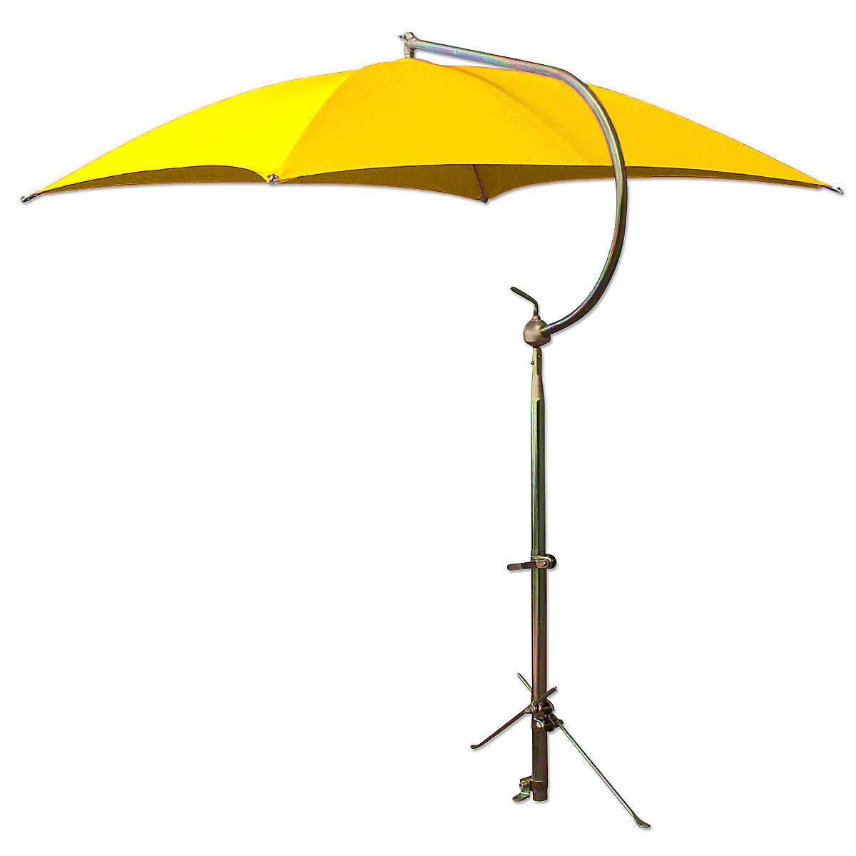 ABC2369Deluxe Yellow Umbrella with Brackets
