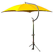 ABC2369 - Deluxe Yellow Umbrella with Brackets