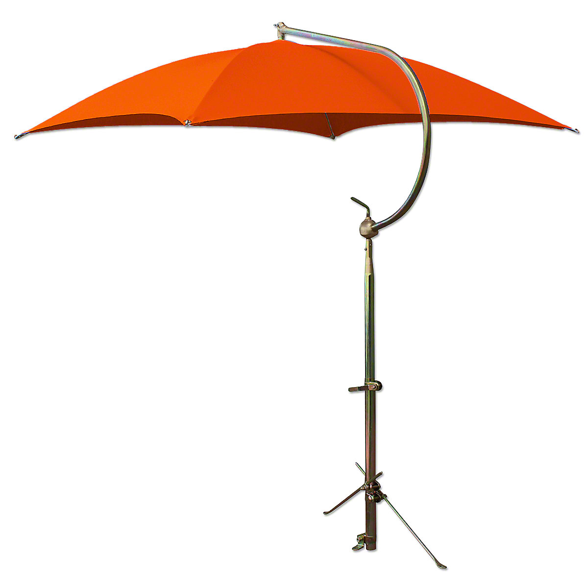 ABC2372 Deluxe Orange Umbrella with Brackets