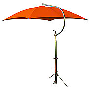 ABC2372 - Deluxe Orange Umbrella with Brackets