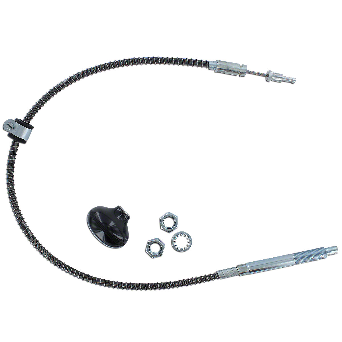 Sherman Transmission Shift Cable With Knob Abc2639
