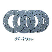 ABC3300 - Disc Brake Linings with Rivets