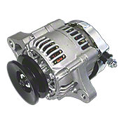ABC3551 - Mini 35 Amp 12-V Negative Ground Alternator with Pulley