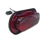 ABC3796 - LED Tail/Warning Light with Red Lens