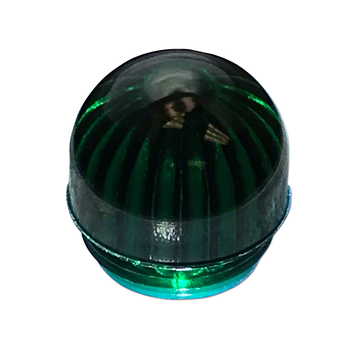 ABC3985 Green Dome Lens only for Dash Warning Light