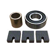 ABC4164 - 6 Volt Generator Bearing, Brush & Bushing Kit