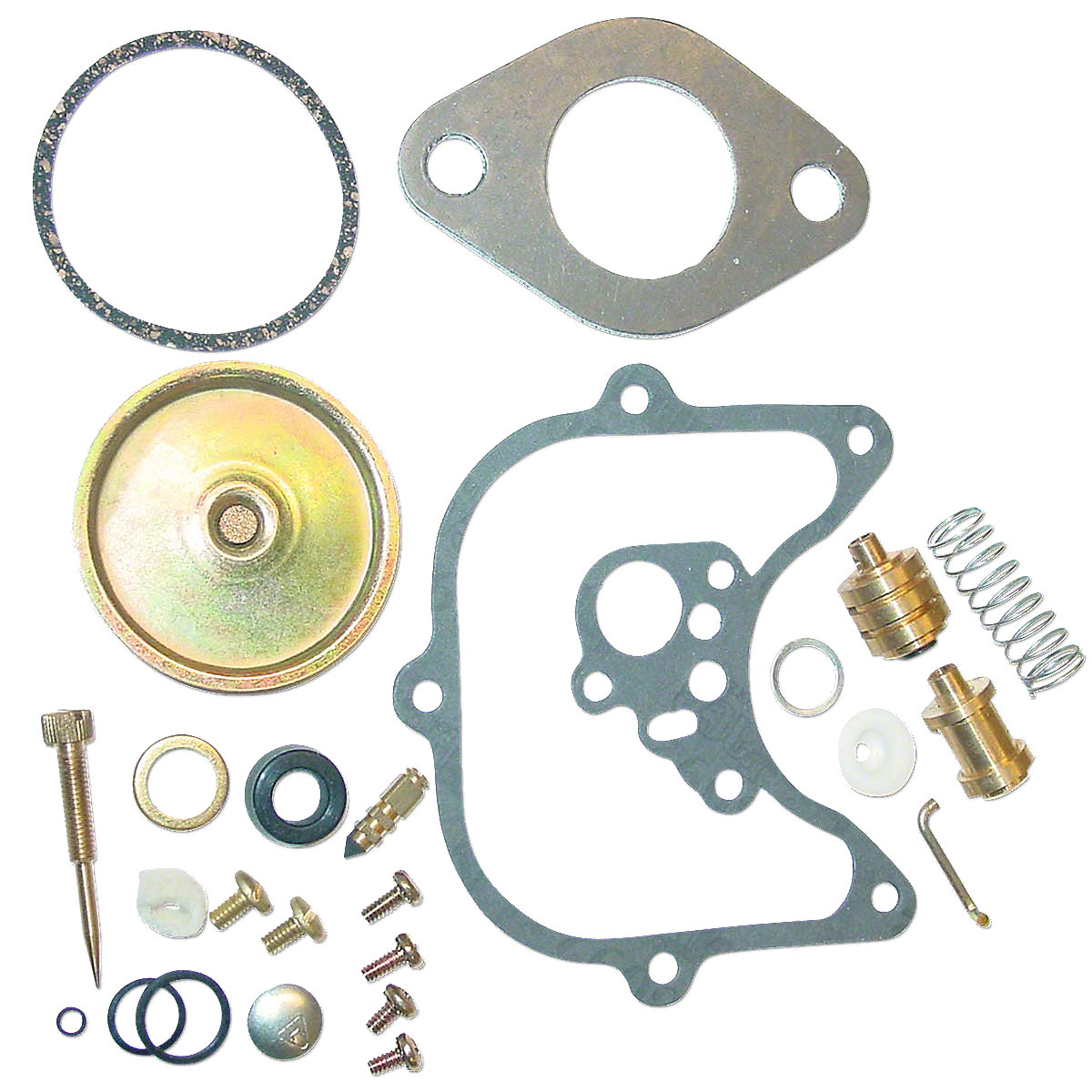 Tractor Carburetor Rebuilding : Holley carburetor repair kit carb