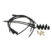 ABC4296 - Spark Plug Wiring Set with straight boots, 6-cyl.
