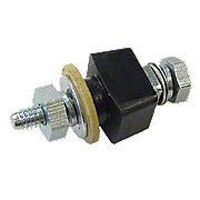 ABC498 - Delco Distributor Terminal Insulator Assembly (Round Shoulder)