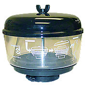 """ABC512 - Pre-Cleaner Cap Assembly (Includes 7"""" Bowl)"""