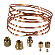 ABC523 - Oil Pressure Gauge Copper Line Kit