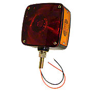 ABC546 - Rectangular Fender And Cab Mount Warning Light