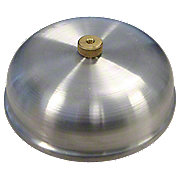 ABC554 - Aluminum Pre-Cleaner Cover With Brass Knurled Nut