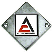 ACS218 - Steering Wheel Emblem With Decal  ---  Front Emblem