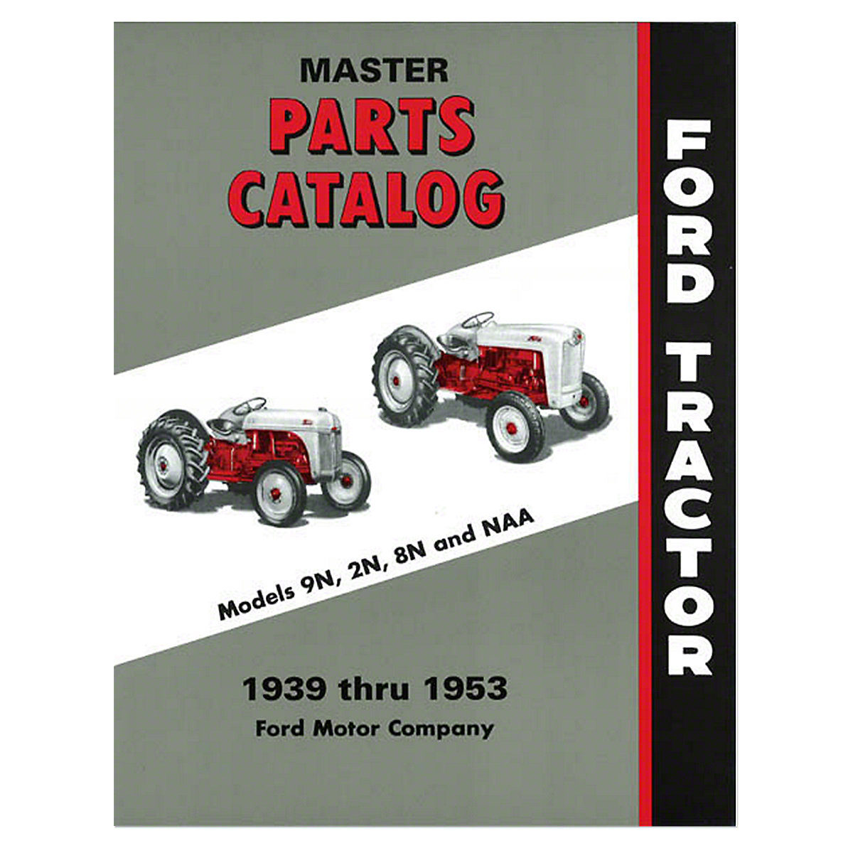 Master Parts Catalog, 1939-1953 (9N - Jubilee). In Stock