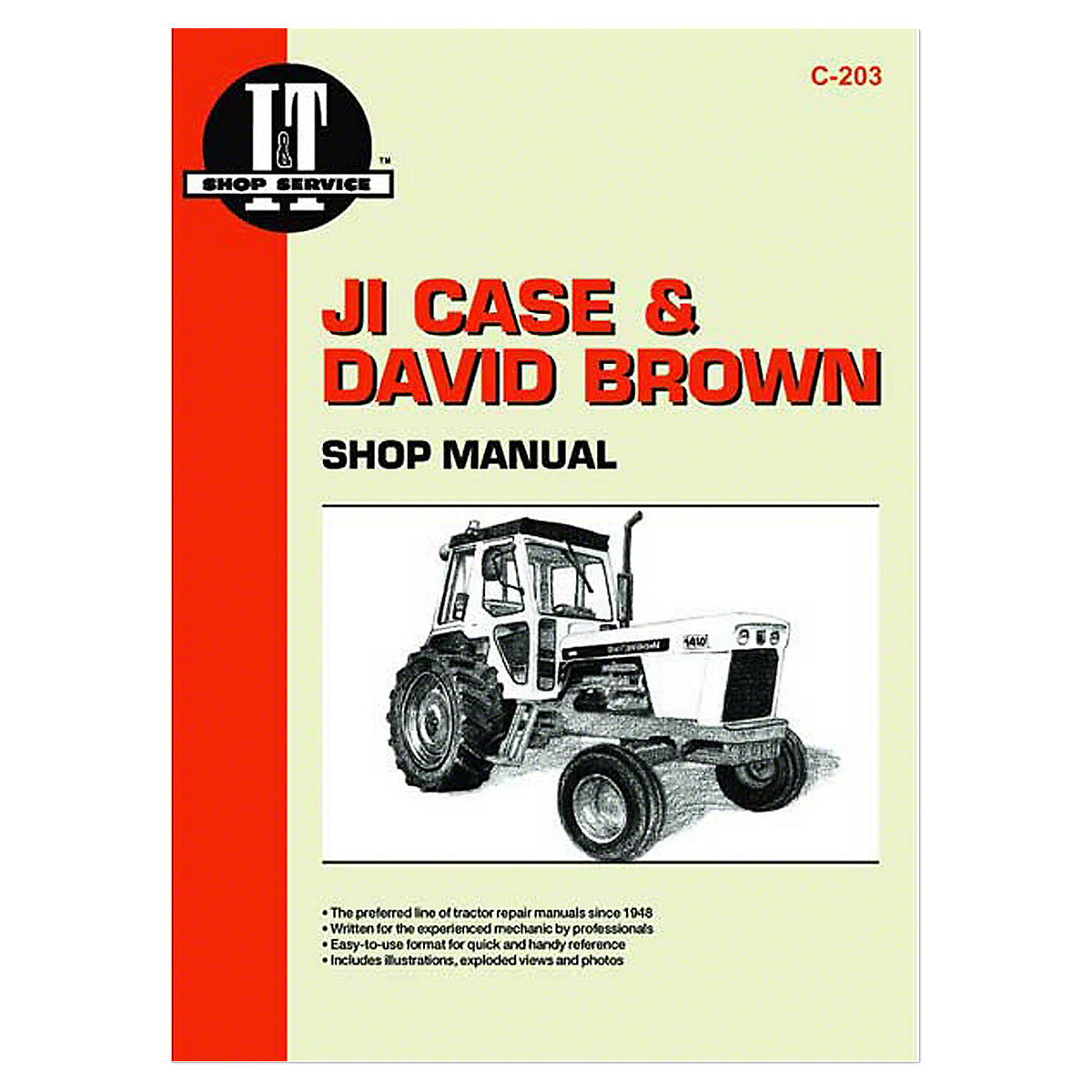 1175 Case David Brown Tractor Wiring Diagram Worksheet And Farmall Electrical C203 I T Shop Service Manual Rh Steinertractor Com