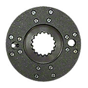 CKS3707 - Brake Plate Assembly with Riveted Lining