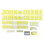 DEC001 - JD A 1923-38: Mylar Decal Set
