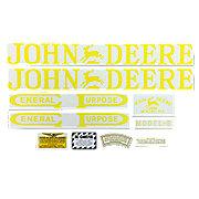 DEC003 - JD B 1923-38: Mylar Decal Set