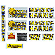 DEC126 - MH 101 Twin Power: Mylar Decal Set