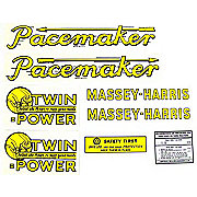 DEC134 - MH Pacemaker: Mylar Decal Set