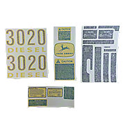 DEC1752 - Vinyl Cut Decal Set 3020 Gas, Diesel