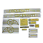 DEC1957 - Cockshutt 20 Mylar Decal Set