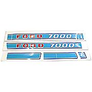 DEC211 - Ford 7000: Mylar Decal Set